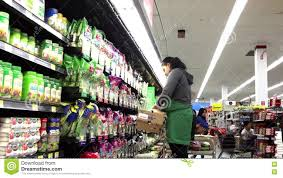 produce clerk stocking lettuce salad stock footage video 74390606