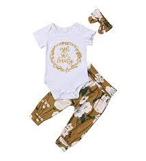 Isnt She Lovely 0-18M Infant Newborn Baby Girl Short ... - Amazon.com