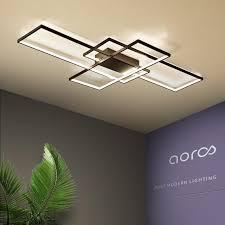 NEO Gleam <b>Rectangle</b> Aluminum <b>Modern Led ceiling</b> lights for living ...