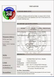 cv online creator Beautiful Excellent Professional Curriculum Vitae   Resume   CV Format with Career Objective Job Profile  amp  Work Experience for BBA CV     Pinterest