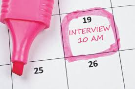 5 tips for effective interviewing career center an image of a calendar a highlighted date