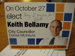 echo alpha reference bellamy s writing on campaign flyers what do you think about keith bellamy writing on his campaign flyers as he or someone from his campaign team most likely stuffs it into the constituents