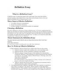 define essay extended definition essay outline example of a definition essay template example of a definition essay