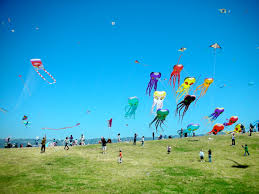 childhood river of life flows fancilful kites