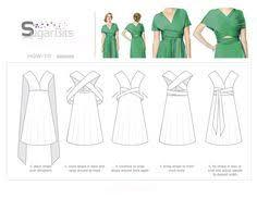 21 Best Infinity dress patterns images   Infinity dress, Dress patterns ...