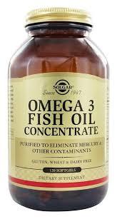 <b>Solgar</b> - <b>Omega 3 Fish</b> Oil Concentrate - 120 Softgels | Calcium ...
