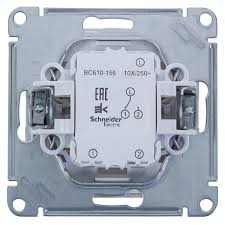 Выключатель проходной встраиваемый <b>Schneider Electric</b> W59 1 ...