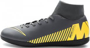 <b>Бутсы</b> мужские <b>Nike Mercurial Superfly 6</b> Club IC Серый цвет ...