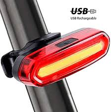 120Lumens USB Rechargeable <b>Bicycle</b> Rear <b>Light Cycling</b> LED ...