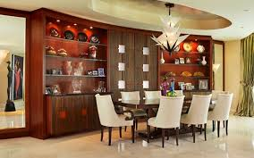 a dining room with asian style and contemporary design in the dining room decorating the walls creates a big impact for accent walls aventura asian style dining room furniture