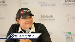 videos ladies professional golf association ariya jutanugarn final round interview at the 2016 volvik championship