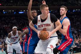 porzingis scores career high 35 knicks top pistons 105 102 detroit pistons guard ish smith left and forward jon leuer right guard