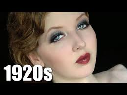 historically accurate 1920s makeup tutorial