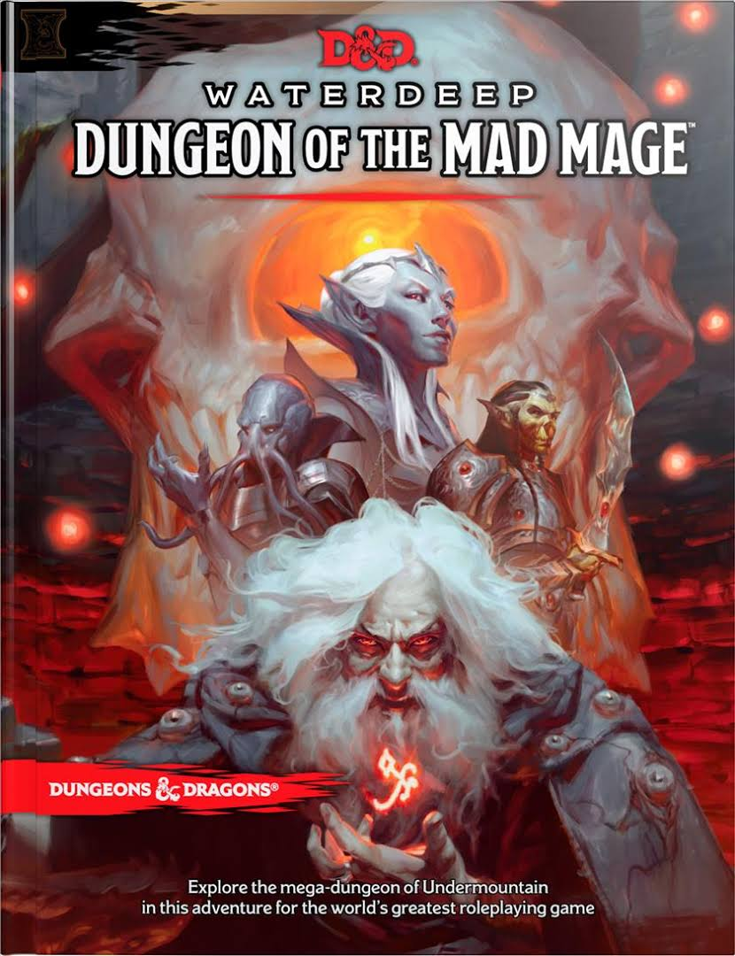 Cover of Waterdeep: Dungeon of the Mad Mage