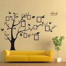 wall decal family art bedroom decor special design memory tree removable wall stickers decal art family home photo frame wall pasters decoration