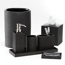 contemporary bathroom accessories sets