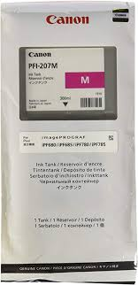 <b>PFI</b>-<b>207M Magenta</b> Ink <b>300ml</b>: Amazon.ca: Home & Kitchen