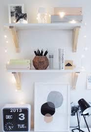 fairy lights around my office shelves bedroom accent lighting surrounding