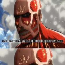 Scumbah Colossal Titan by necrowar - Meme Center via Relatably.com