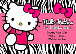 hello kitty birthday invitations com hello kitty birthday invitations a classic setting of your catchy birthday 19
