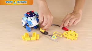 Машинка Робокар Поли-<b>трансформер</b> (10 см) с костюмом ...