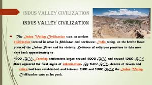 indus valley civilizationindus valley civilization