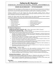 resume  sales manager objective for resume  chaoszsales manager resume summary examples resume examples sales manager