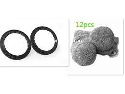 2 * чистящих кольца + 12 * <b>салфетка из микрофибры</b> для <b>HOBOT</b> ...