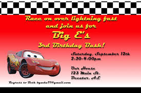 a disney mom s thoughts car s birthday party invitation a car s birthday party invitation a disney mom s thoughts