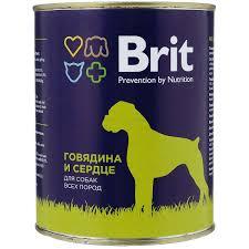 <b>Корма для</b> собак <b>Brit</b>