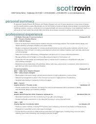 scott rovin resume sample for creative director art director and annamua