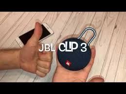 Обзор <b>JBL CLIP 3</b> портативная <b>колонка</b> - YouTube