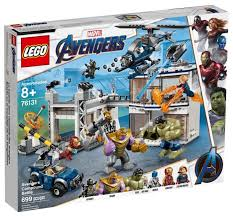 <b>Конструктор LEGO</b> Marvel <b>Super Heroes</b> 76131 Битва на базе ...