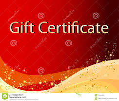 red christmas gift certificate royalty stock photo image red christmas gift certificate
