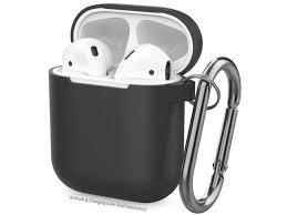 Black <b>AirPods</b> Case Cover <b>Silicone Skin</b> & Protective <b>Airpods</b> ...