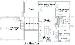 Plan  SB Custom Designed Saltbox House Plans   Styles and    Saltbox Home st floor plan