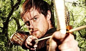Perhaps no folk hero has been reincarnated or re-envisioned more times than Robin Hood, the famous English outlaw who robbed from the rich to feed the poor. - robin-hood-jonas-armstr-001