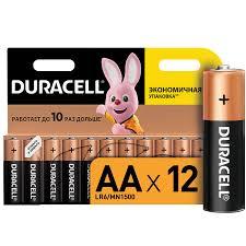 <b>Батарейки</b> щелочные Duracell <b>АА</b>/LR6, 12 шт — купить в ...
