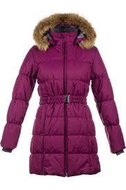 <b>Пальто HUPPA</b> для девочки, на зиму, официальный интернет ...