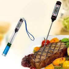 <b>Digital Probe Meat Thermometer</b> Kitchen Cooking BBQ Food ...