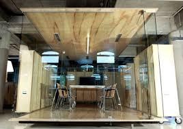 chic wooden interior office design chic office design