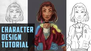 How To Create a <b>Unique Character Design</b> in 10 Steps - YouTube