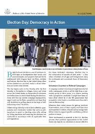 A VÁLASZTÁS NAPJA: DEMOKRÁCIA A GYAKORLATBAN/Címlap