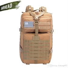 2019 42L <b>Military Tactical Assault Backpack</b> Army 3D Waterproof ...