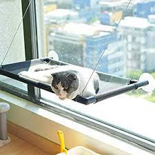 Pakeway <b>Cat Window Perch Hammock Cat Bed</b> with <b>Upgraded</b> ...