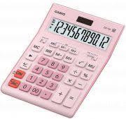 <b>Калькулятор Casio GR-12C-PK</b> 12 разр.розовый батарея ...
