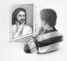 Image result for caricature of God's mirror image