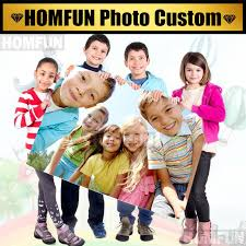 <b>HOMFUN</b> Photo Custom! Private custom! <b>5D DIY Diamond</b> Painting ...