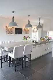 contemporary kitchen lighting fixtures. contemporary kitchen with soft grey metal shaded pendant light fixtures lighting