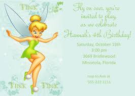 tinkerbell invitation card template com birthday invitation card template adult birthday